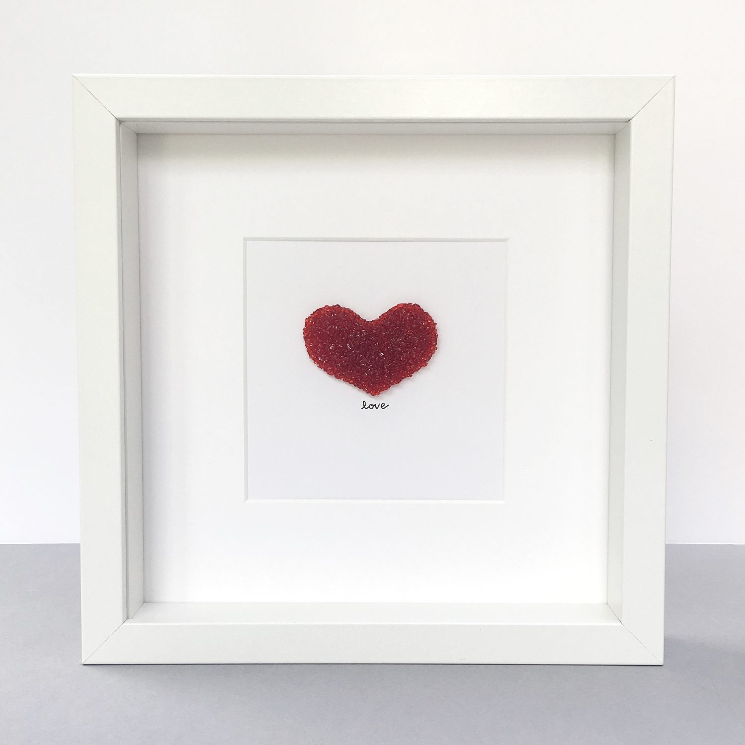 red love heart picture