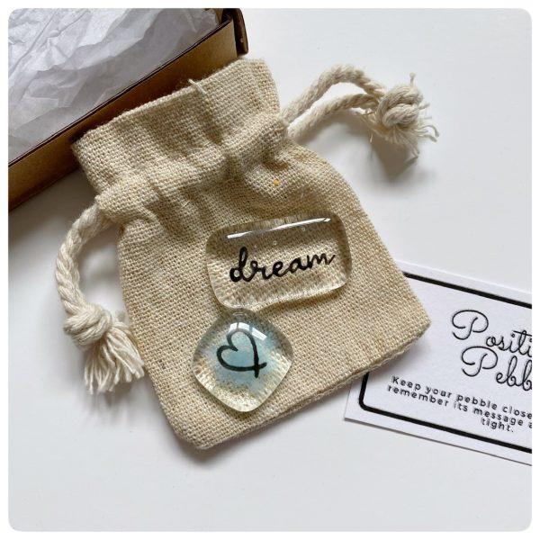 Dream pocket positivity pebble set